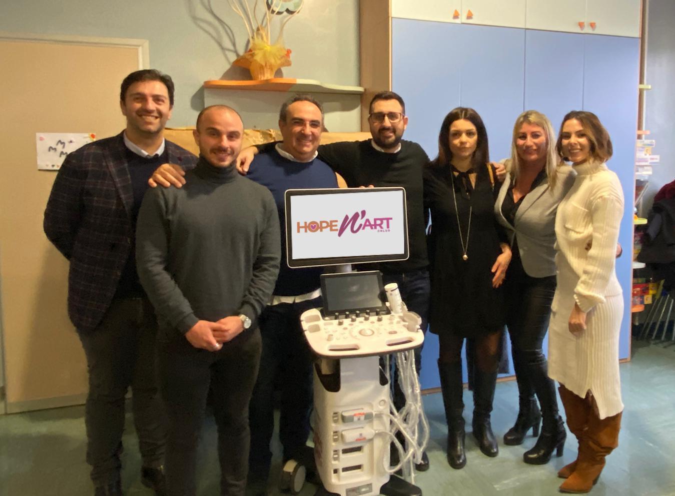 E' stato acquistato l'ecografo per l'ospedale di Pescara!